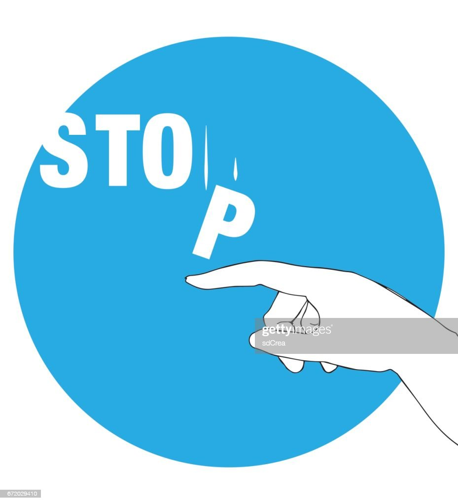 Protest Poster for Stop