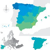 Provinces and communities of Spain