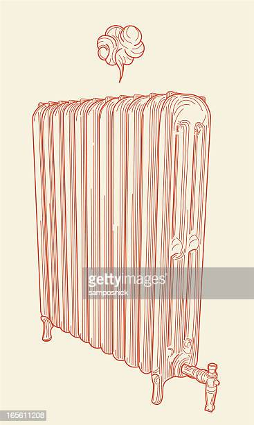 pssst... it's your friend, the radiator. - radiator heater stock illustrations, clip art, cartoons, & icons