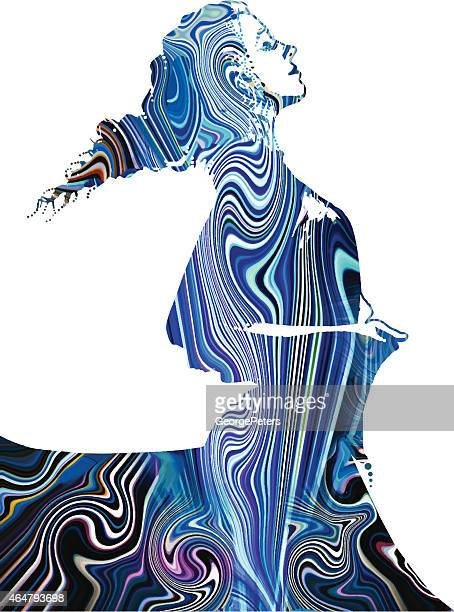 Psychedelic Woman Dancing
