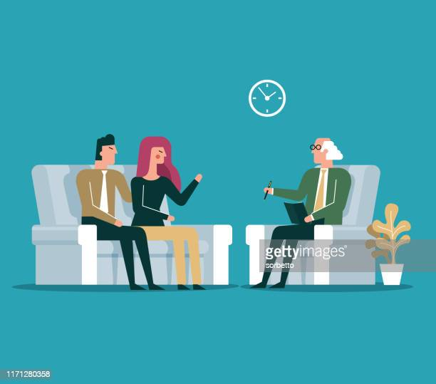 psychologist - mental health professional stock illustrations