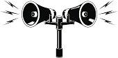 Public Address Speaker Announcement Icon