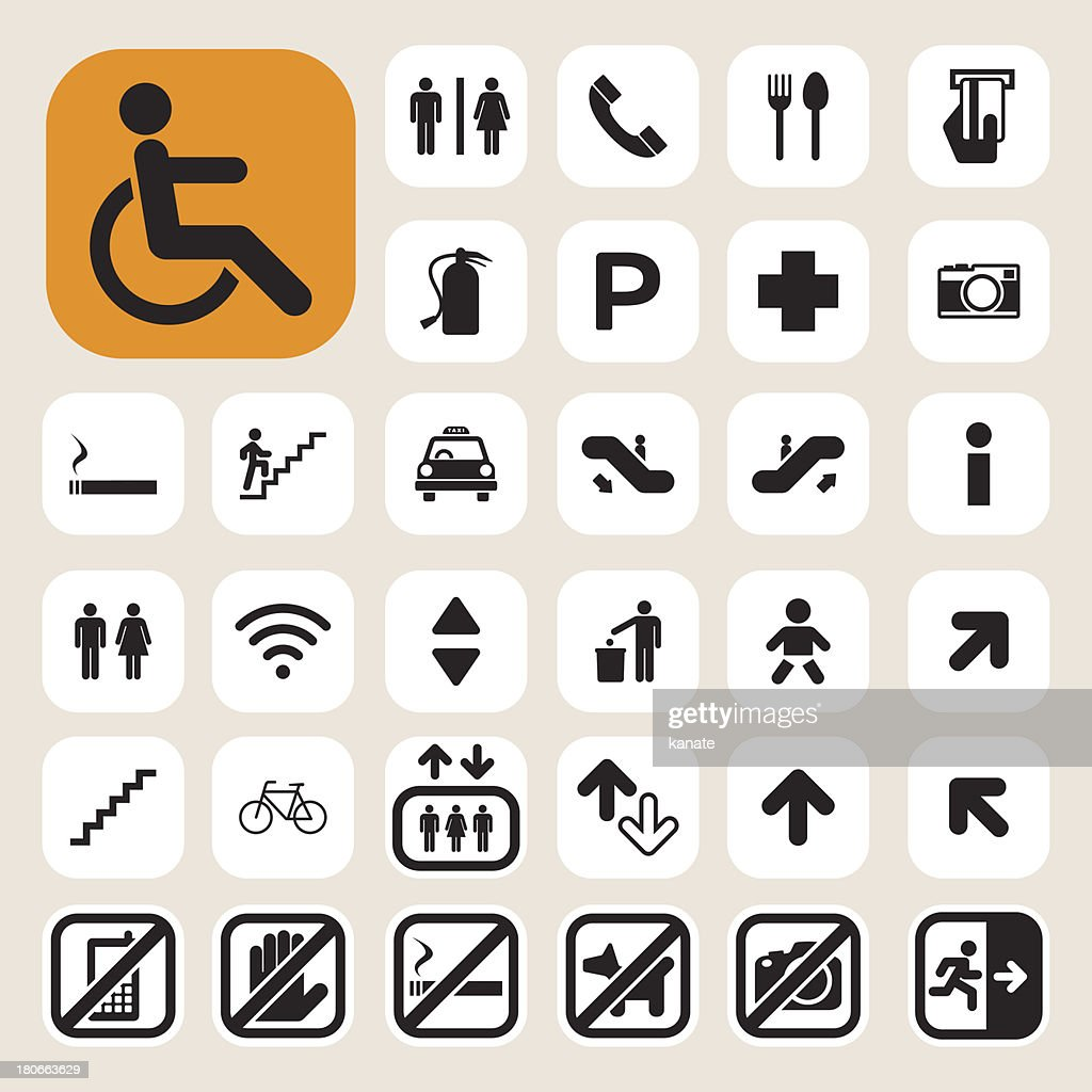 Public icons set.