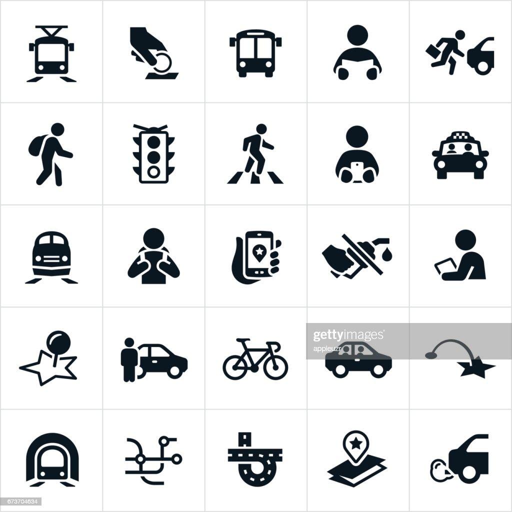 Public Transit Icons