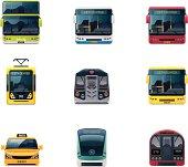 Public transport icons