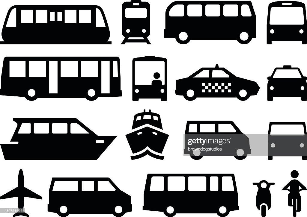 Public Transportation - Black Series