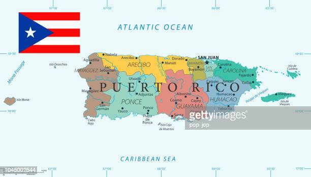 28 - puerto rico - color2 10 - en búsqueda stock illustrations