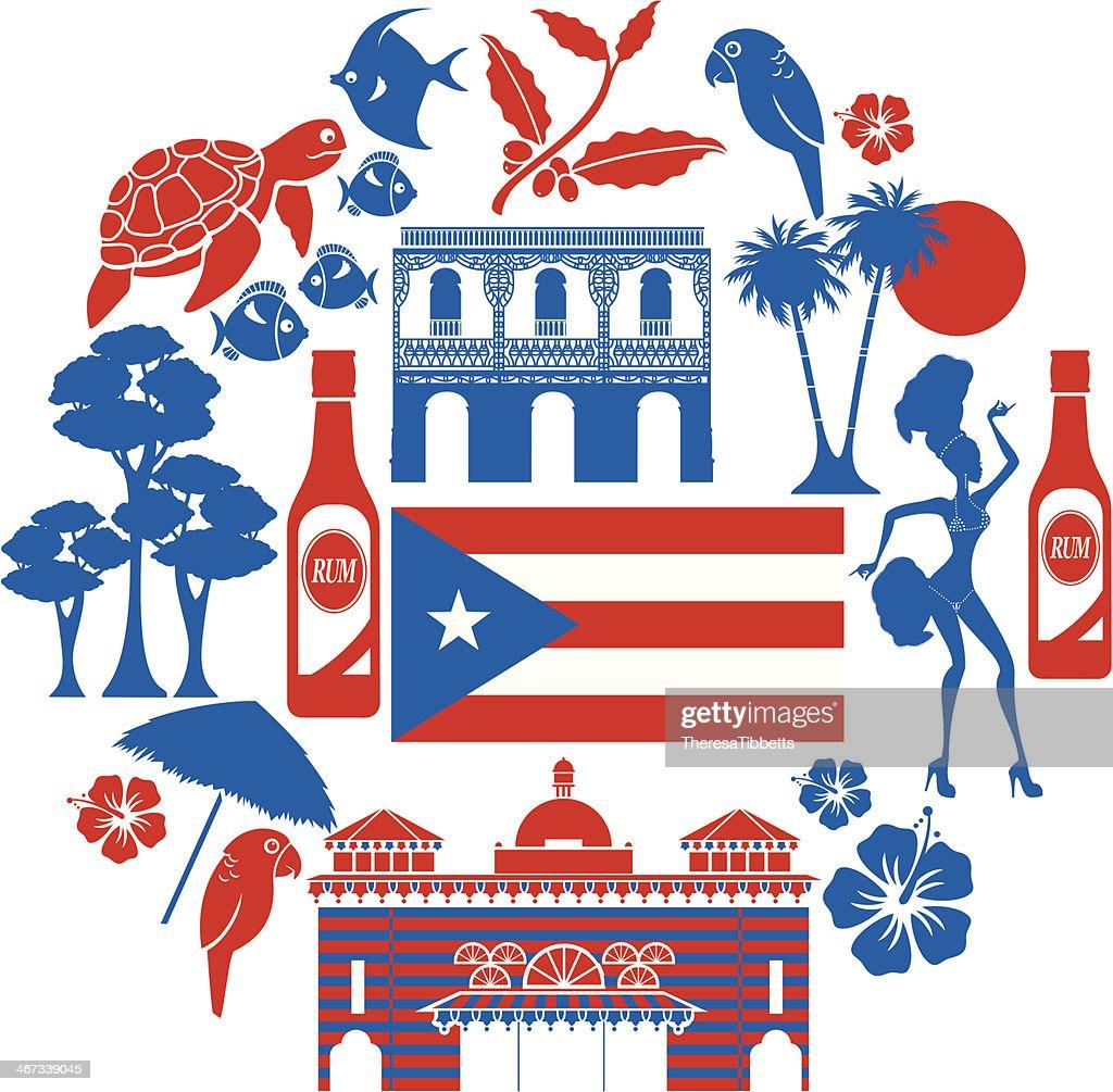 Puerto Rican Artwork Vector 1 Clip Art Vector Site