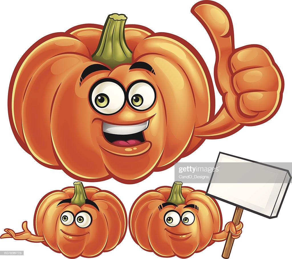Pumpkin cartoon set c vector art getty images pumpkin cartoon set c vector art thecheapjerseys Images