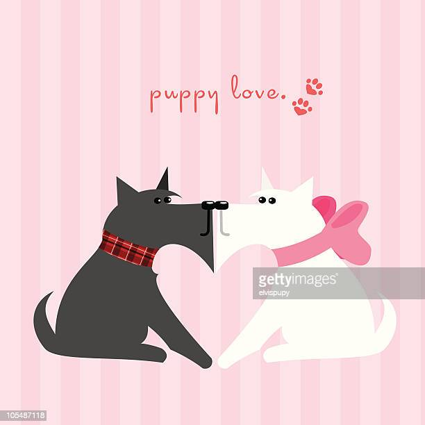 puppy love - boyfriend stock illustrations, clip art, cartoons, & icons