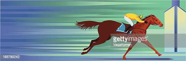 Vencedor da Corrida de Cavalos de Angorá
