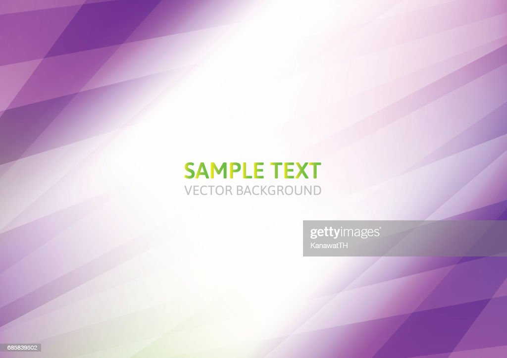 Purple abstract vector on white background with copy space