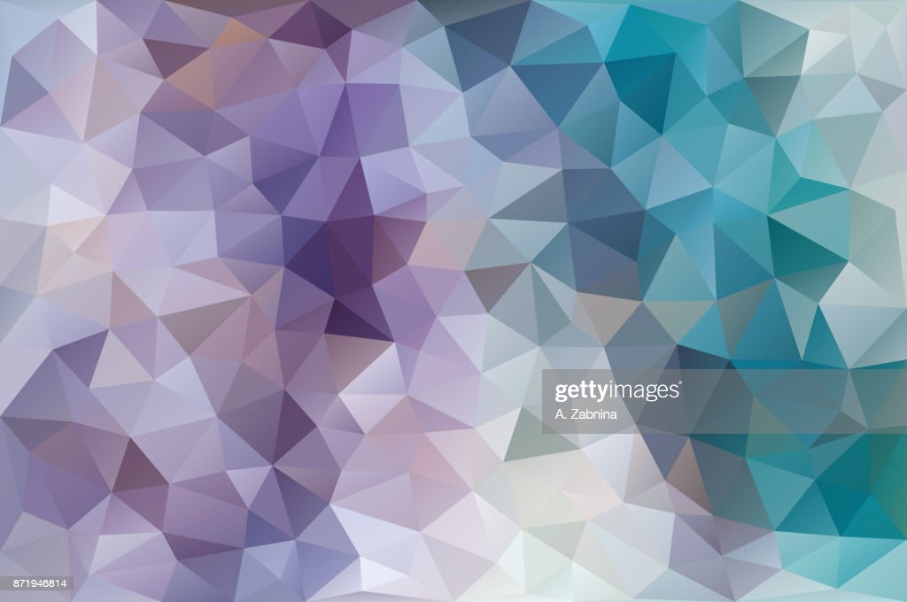 purple and blue triangular abstract background