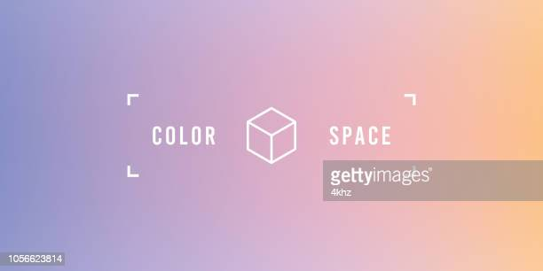 Purple Basic Elegant Soft Color Space Smooth Gradient Vector Background