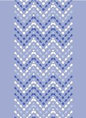 Purple drops chevron seamless pattern background vertical border