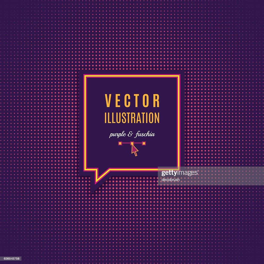 Purple fuschia abstract light background Magenta minimal design Vector Dotwork