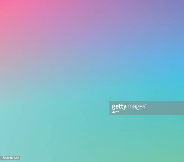 Purple Green Defocus Multi Color Gradient Stock Vector Background