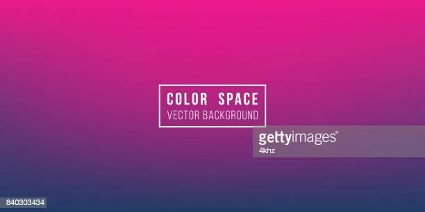 Purple Horizon Soft Color Space Defocus Smooth Gradient Background
