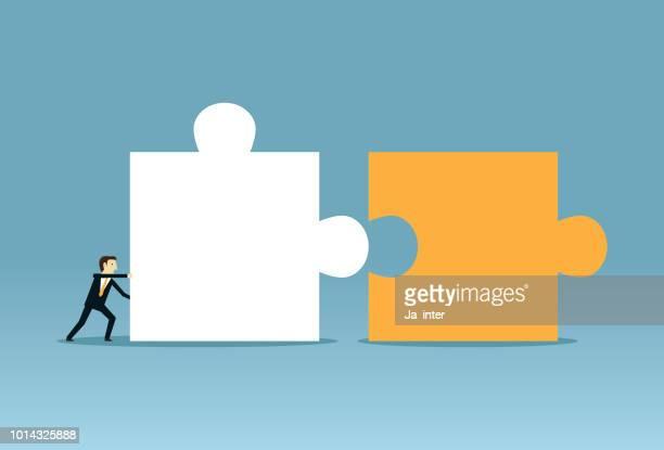 Pushing combine puzzle