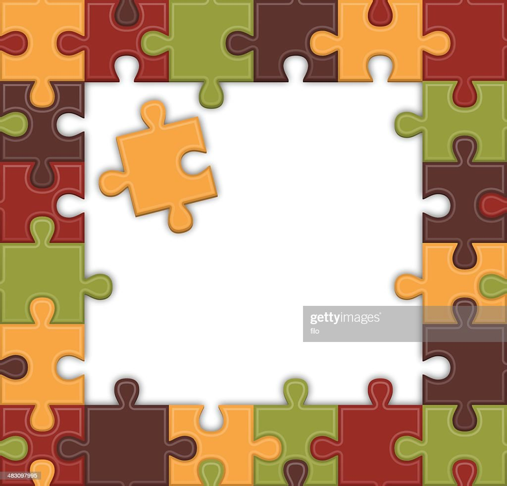 Puzzle Frame Vector Art | Getty Images