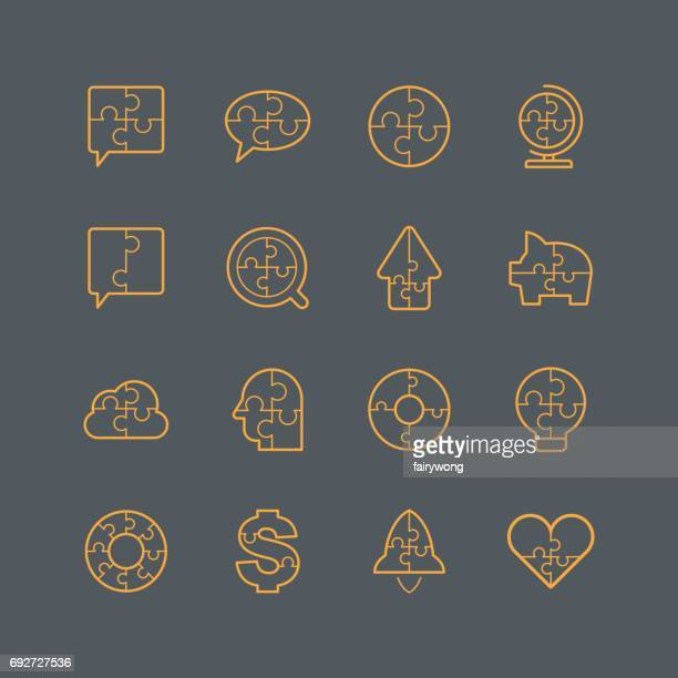 Puzzle icons