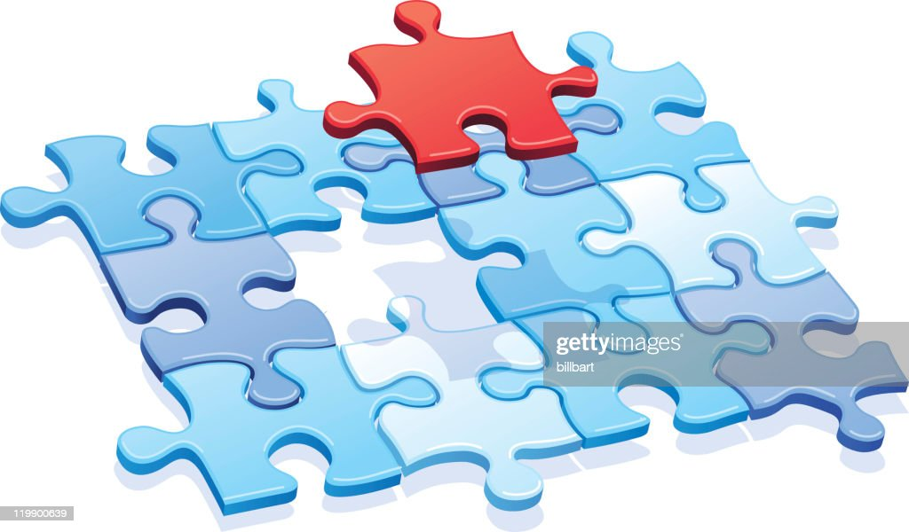 Puzzle Missing Piece Vector Art
