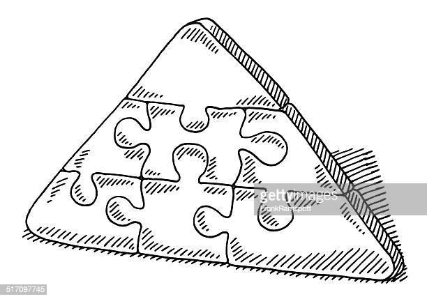 Illustrations et dessins anim s de dessin au feutre - Dessin de pyramide ...