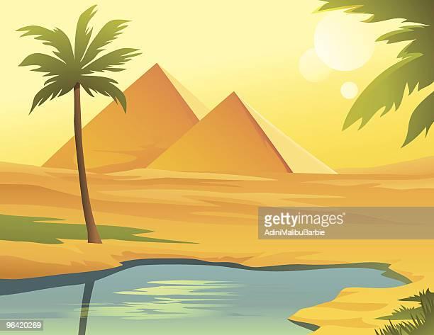 Pyramids in Egipt