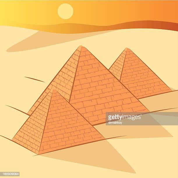 pyramids - arabic script stock illustrations, clip art, cartoons, & icons