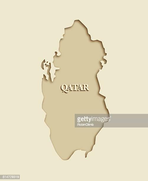 ilustrações, clipart, desenhos animados e ícones de mapa do qatar - qatar