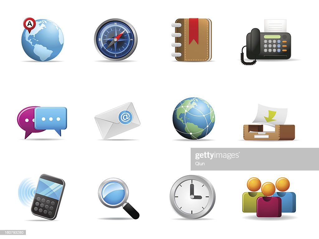 Qicon | Web and Communication icons