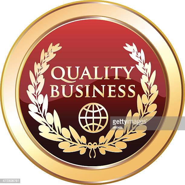 quality business award - diadem stock illustrations