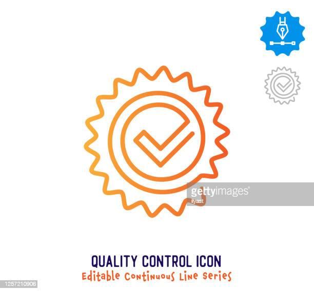 品質管理連続線編集可能な線 - ソフトウェアアップデート点のイラスト素材/クリップアート素材/マンガ素材/アイコン素材