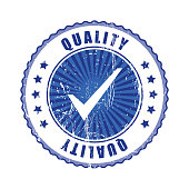 V   Quality Stamp.