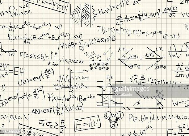 quantum physics pattern - physics stock illustrations