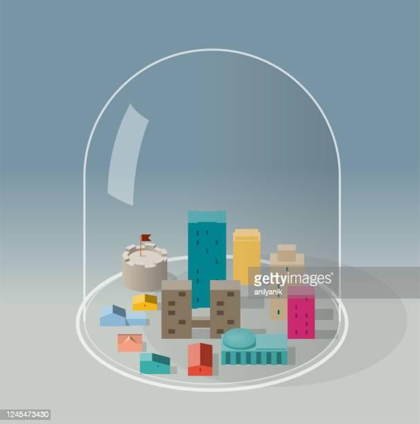 検疫 - 人工建造物点のイラスト素材/クリップアート素材/マンガ素材/アイコン素材