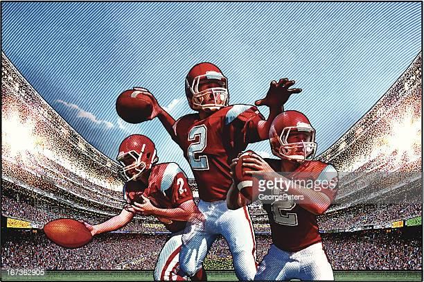Quarterback. Futebol Americano