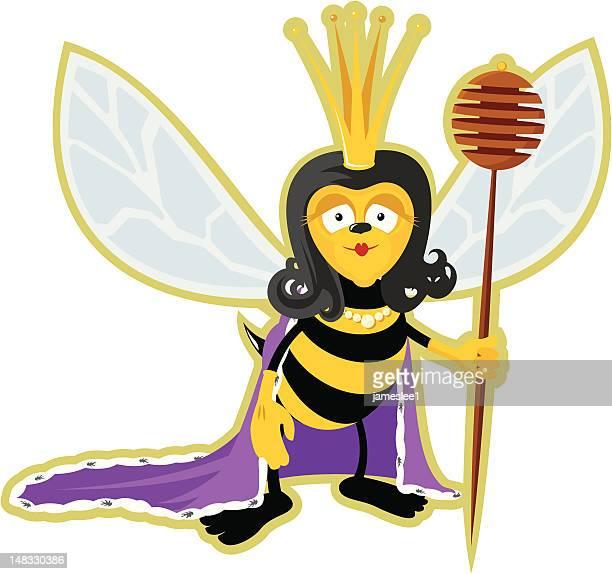 queen bee - queen bee stock illustrations
