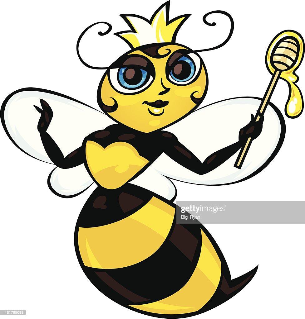 queen bee : Vector Art