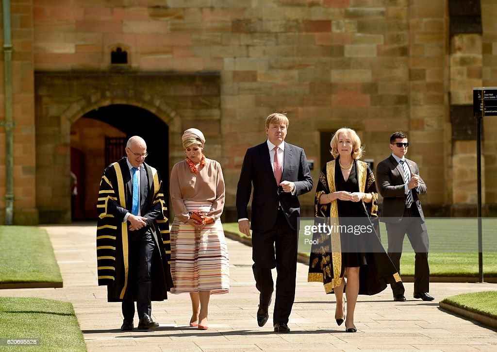 King Willem-Alexander And Queen Maxima Of The Netherlands Visit Australia : News Photo