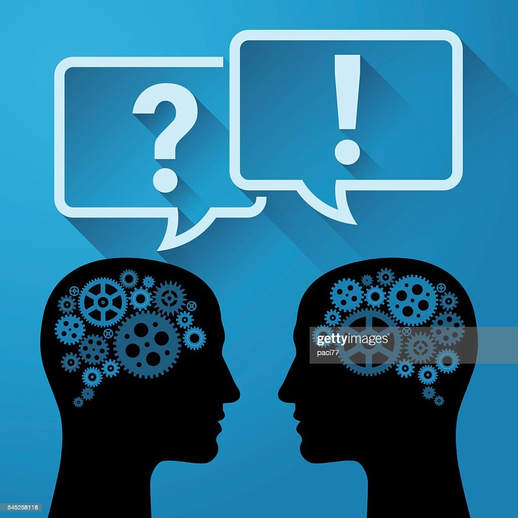 Question and Answer - Communication concept