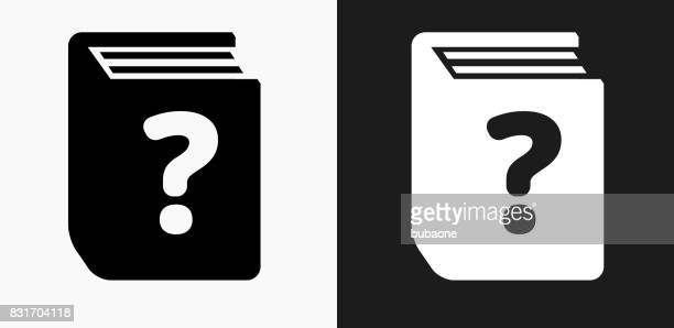 question book icon on black and white vector backgrounds - closed stock illustrations, clip art, cartoons, & icons