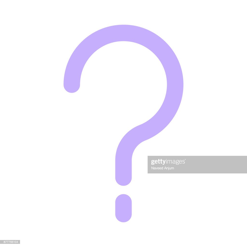 question mark Colour Line Vector Icon