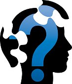 Question Mark Jigsaw Head