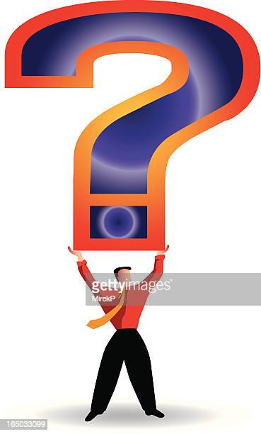 question mark - forgiveness stock illustrations, clip art, cartoons, & icons