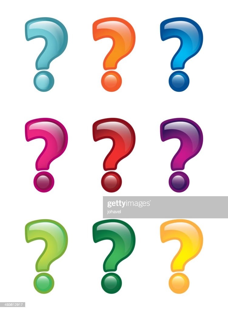 questions icons