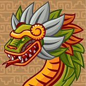 Quetzalcóatl (mexican Feathered Snake God)