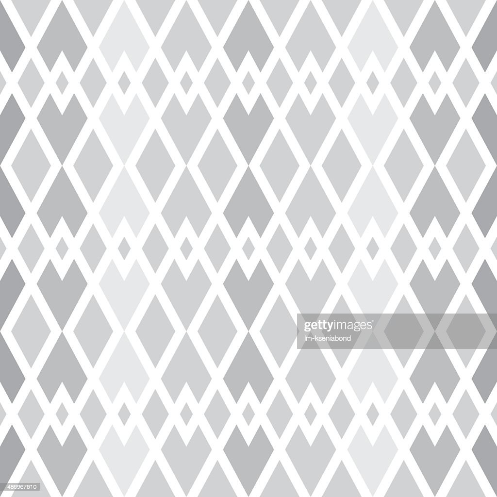 quilted geometric pattern of diamonds