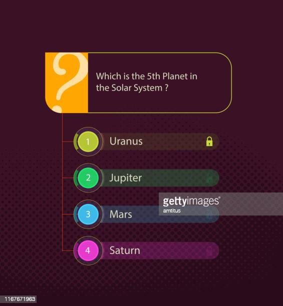 quiz template vertical - q and a stock illustrations