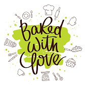 Quote Baked with love
